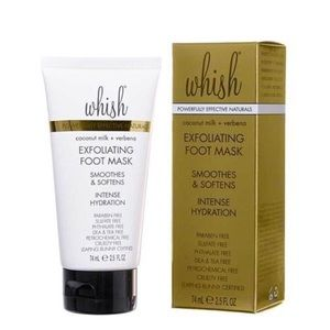 NWT whish exfoliating foot mask
